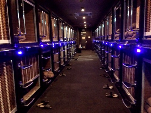 Tokyo on a budget – Capsule Hotels