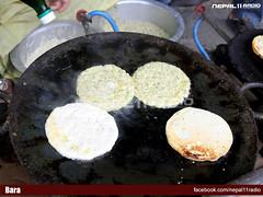 Making of Bara (Typical Newari Dish)