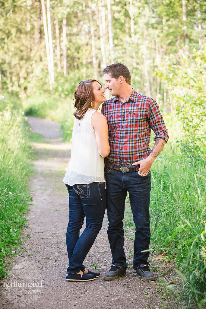 Haley & Eric's Engagement Session - Prince George BC