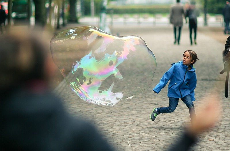 Soapbubble & Kid