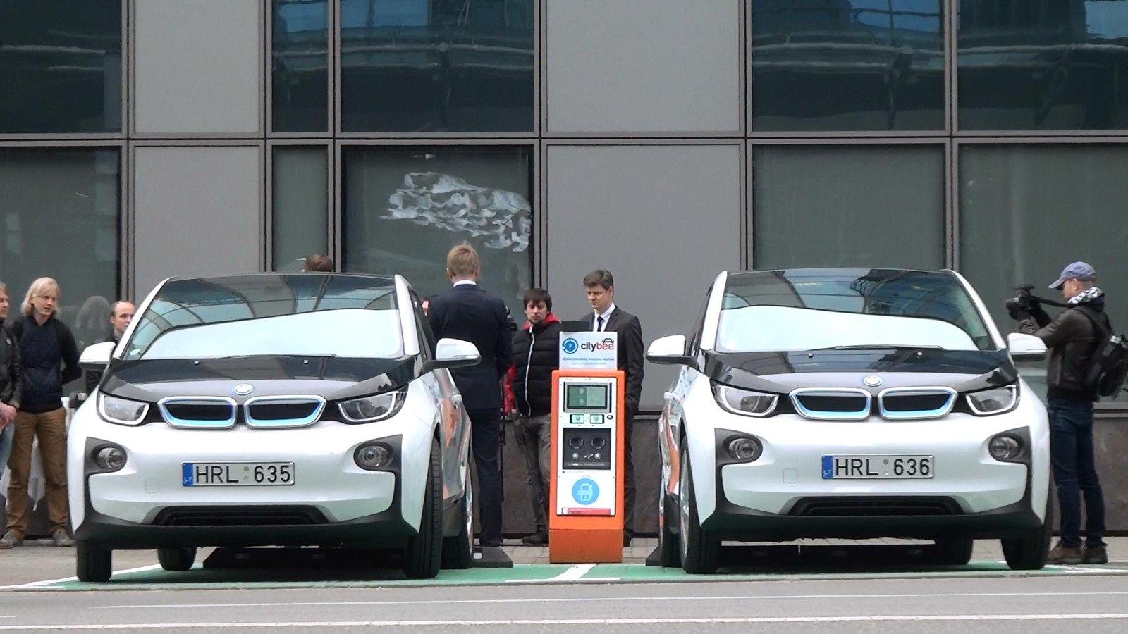 Va taip atrodo tos CityBee mašinos elektromobiliai