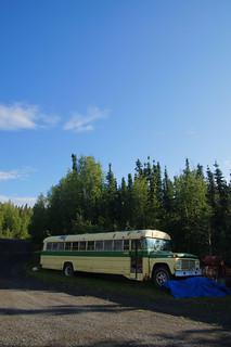 006 Oude bus bij Wildwood General Store