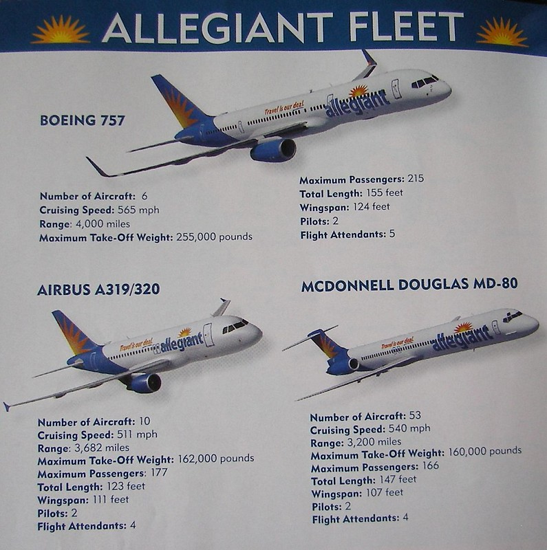 Engine View Seats On Allegiants Md80 Airlinersnet