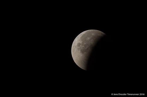 Mondfinsternis - Sonnenseite