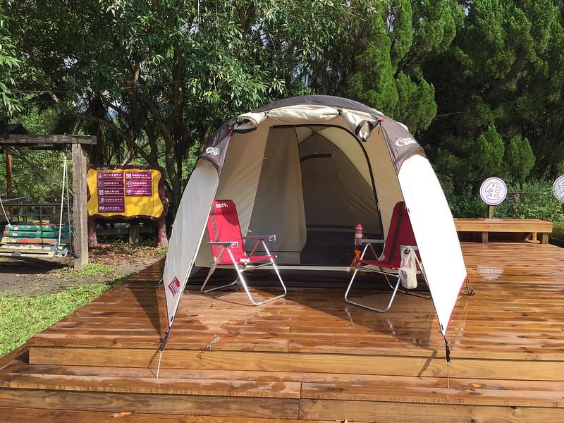 陽光底下的帳篷