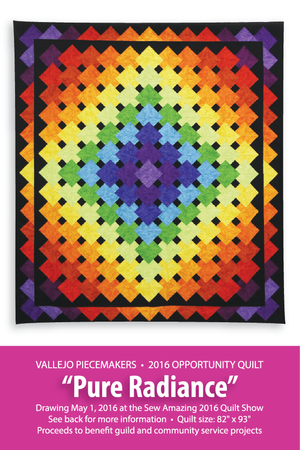 2016 Opportunity Quilt Postcard (Front)