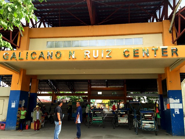 The newly-rehabilitated Calicano N. Ruize Civic Center - June 2015