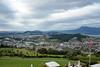 День 8. Люцерн - но время потихоньку поджимало и нужно было ехать в отель. Я нашел отель за относительно не большие для Швейцарии деньги (70 евро в сутки за номер), расположенный за городом, но с невероятным видом на город.