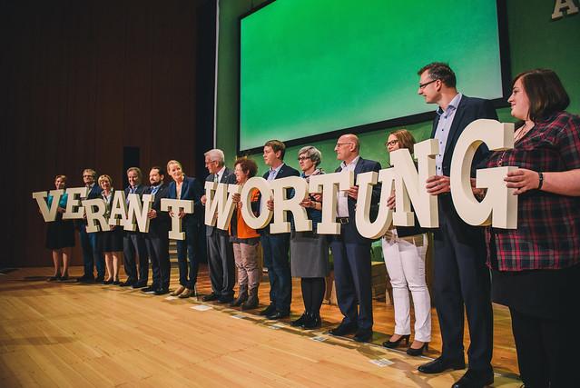 Grün aus Verantwortung - Die Landesdelegiertenkonferenz in Pforzheim