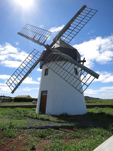 Renovierte Windmühle