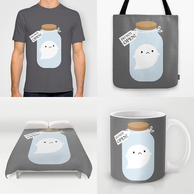 Trapped Ghost at Society6
