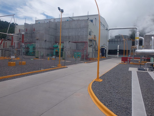 Los Azufres III Phase 1 geothermal plant