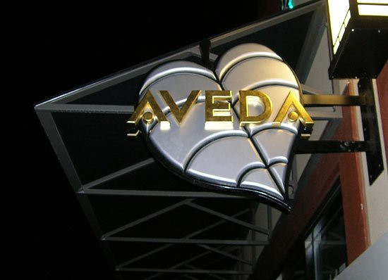 Aveda  panel and projecting