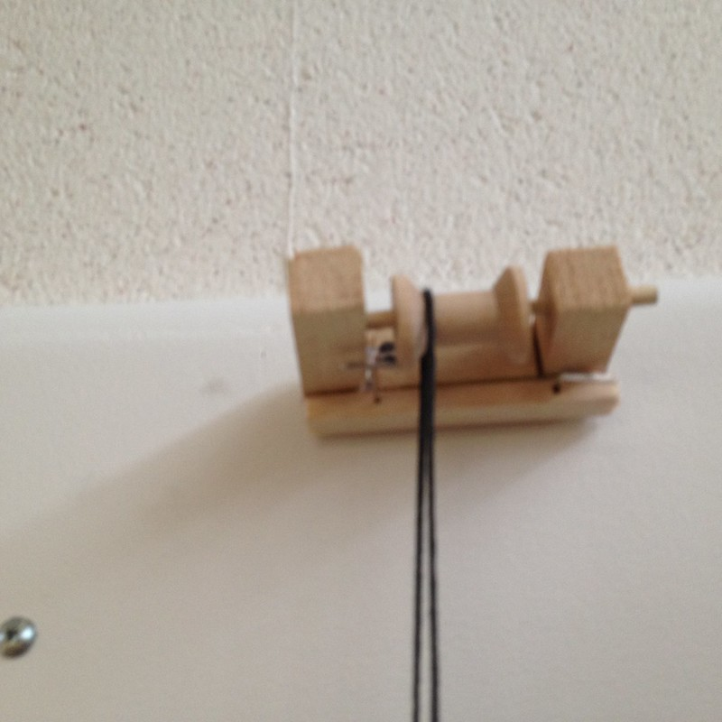 Rockets on pulley (counterweight)