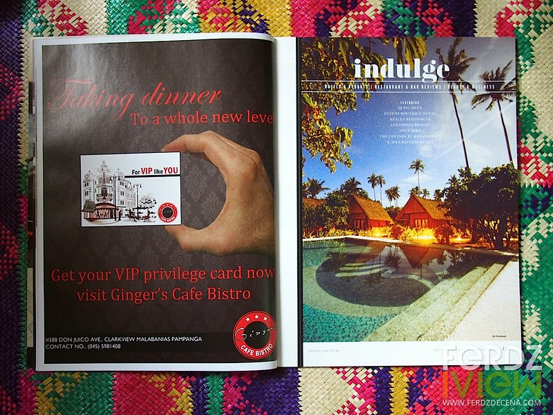 Qi Palawan for the Indulge opening page