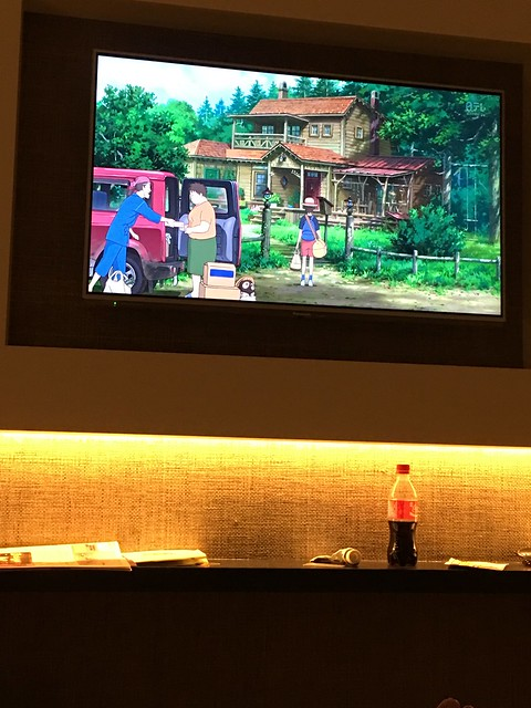 Watching Japanese anime in Japan