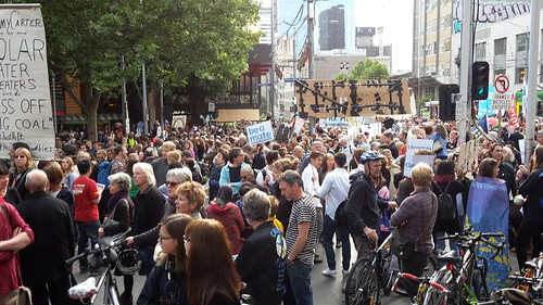 World climate protest November 2015