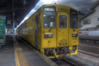 Trains at Hita Station on OCT 27, 2015 (13)