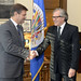 Secretary General Receives Minister of Justice of Spain