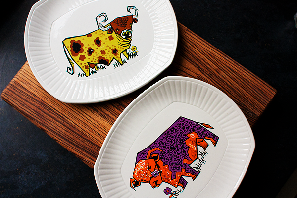 vintage-cow-plate-2
