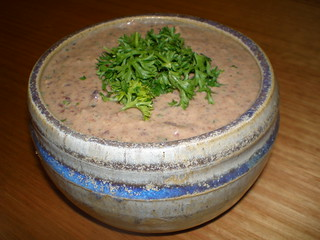 Black Bean and Orange Hummus