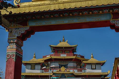 monastery dalailama kalimpong highestpoint zangdokpalri phodang palri tsenpo zangdok durpindara