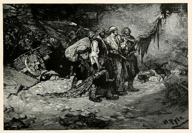002-El saqueo de Panama- Howard Pyle's book of pirates..1921