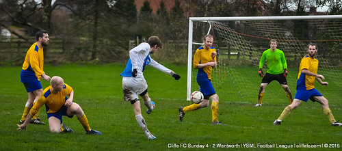 Cliffe FC Sunday 4 - 2 Wentworth 6Dec15