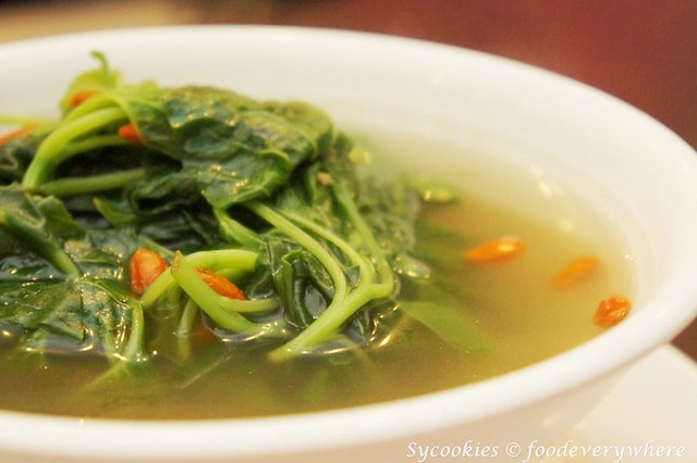 3.utopia vegetarian cuisine -SPINACH SOUP
