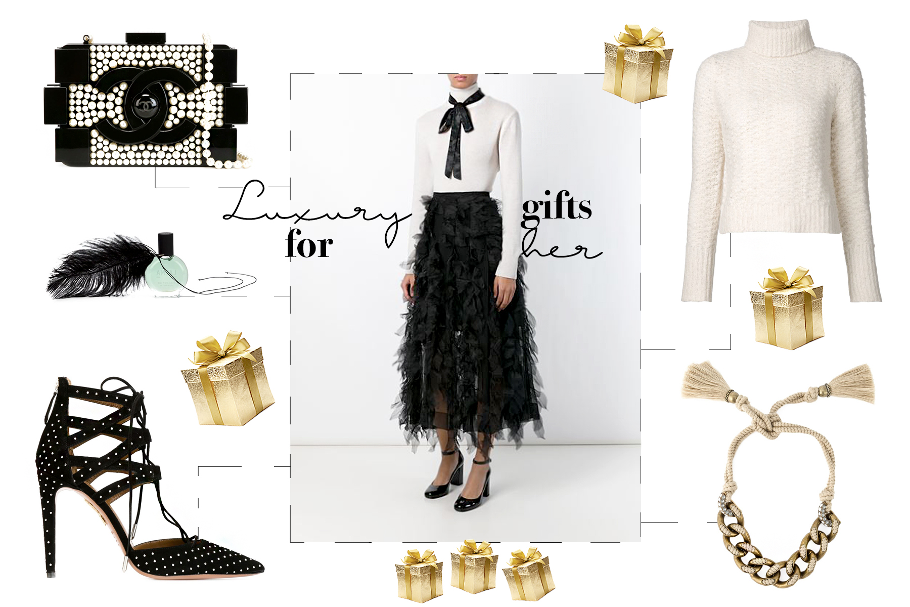 farfetch ricarda curates the holidays my luxury wishlist for christmas ladies girls aquazzura chanel lanvin rochas festive season outfit gift guide cats & dogs fashionblog modeblog ricarda schernus lifestyle blogger dusseldorf germany