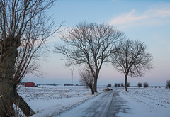 Winter on the Countryside
