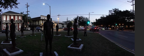 Deepwater Horizon memorial on Elysian Fields, New Orleans