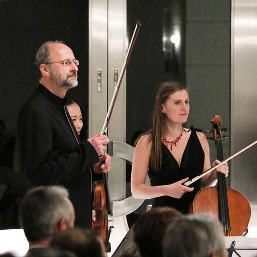 約1時間、ベートーベン、スーク、ドヴォルジャークの順に、約1時間の演奏会。