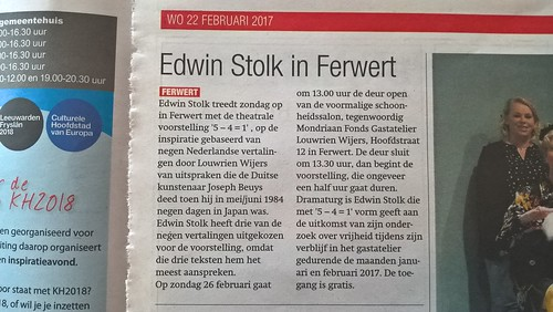 5 - 4 = 1 | Edwin Stolk | 2017 | by Edwin Stolk