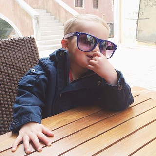 Coolest baby in Venice right here!