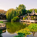 In the Chinese Garden by Þorkell