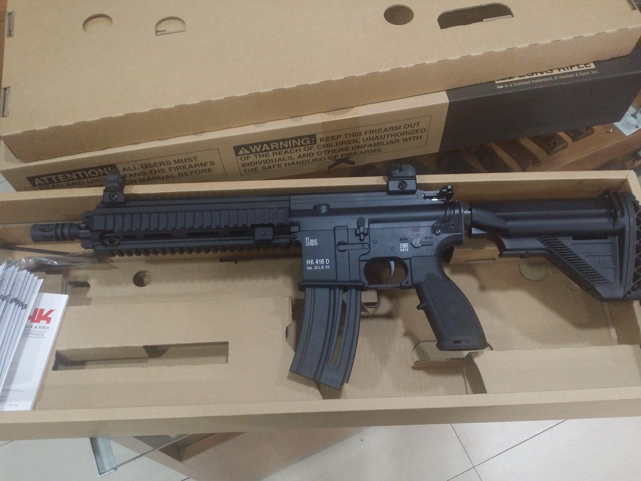 HK 416 22lr (710€) ###VENDIDA### - Armas es foro de tiro, caza