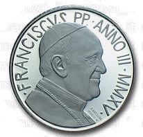 Vatican City 5 Euro obverse