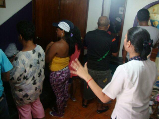 Casas de Oración: Barrio Los sin techo, Caracas.