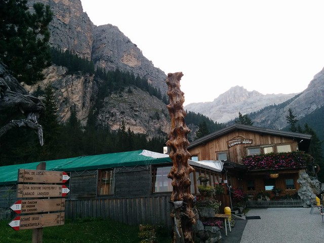 Ausgangspunkt Capanna Alpina St. Kassian