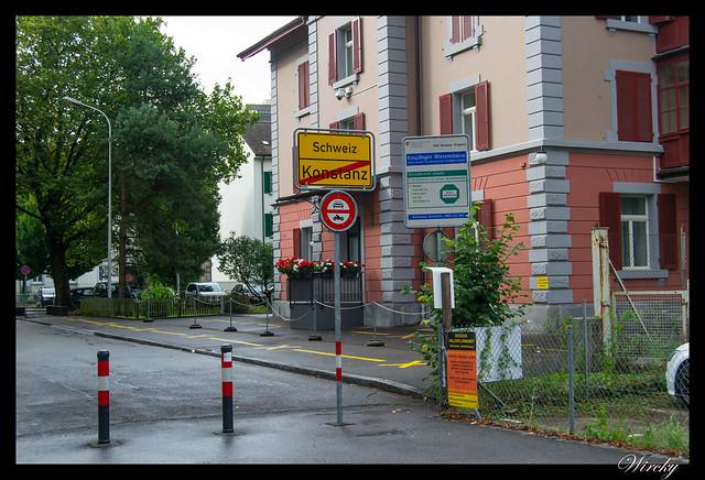 Alemania Lago Constanza Meersburg Unteruhldingen Salem - Frontera Alemania-Suiza en Constanza