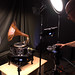Lighting a Gramophone with Bi-Color FlapJacks by FotodioxPro
