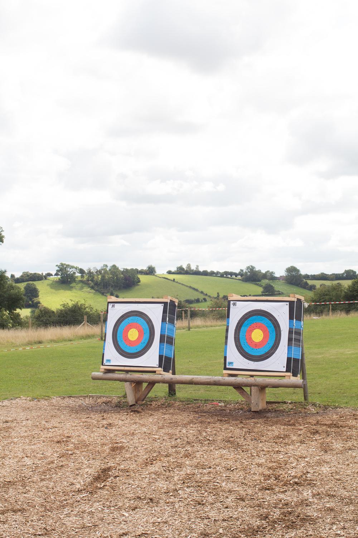 5 archery target