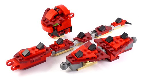 LEGO Creator 31032 Red Creatures 23