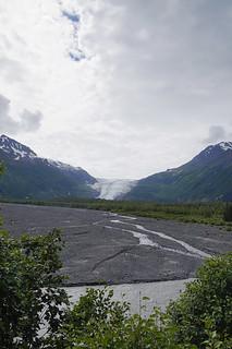 038 Uitzicht op Exit glacier