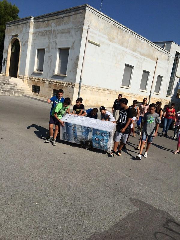 Casamassima-I ragazzi del Semiconvitto Pia Domuns Cristo Re raccontano la gioia per la nuova piscina (9)
