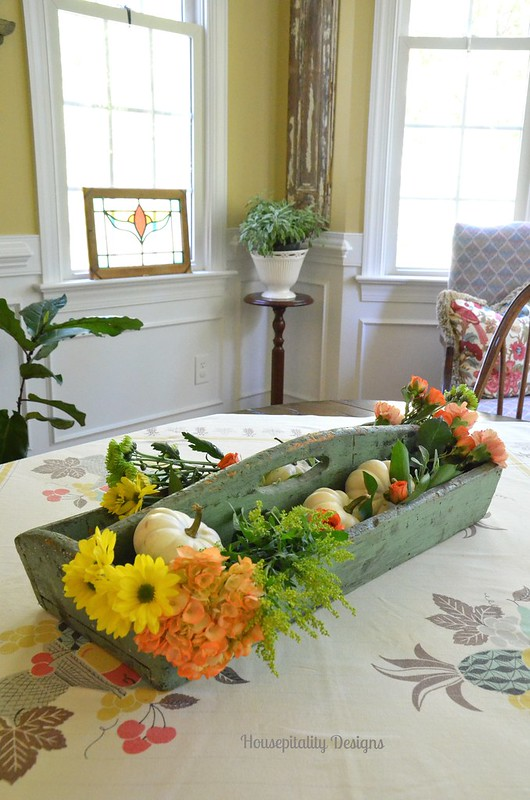 Antique Tool Caddy Centerpiece - Housepitality Designs