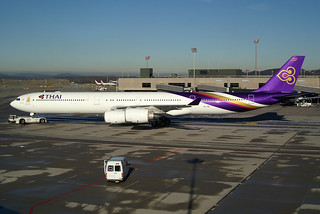 "Thai Airways International Airbus A340-642 HS-TNE ""Nonthaburi"""