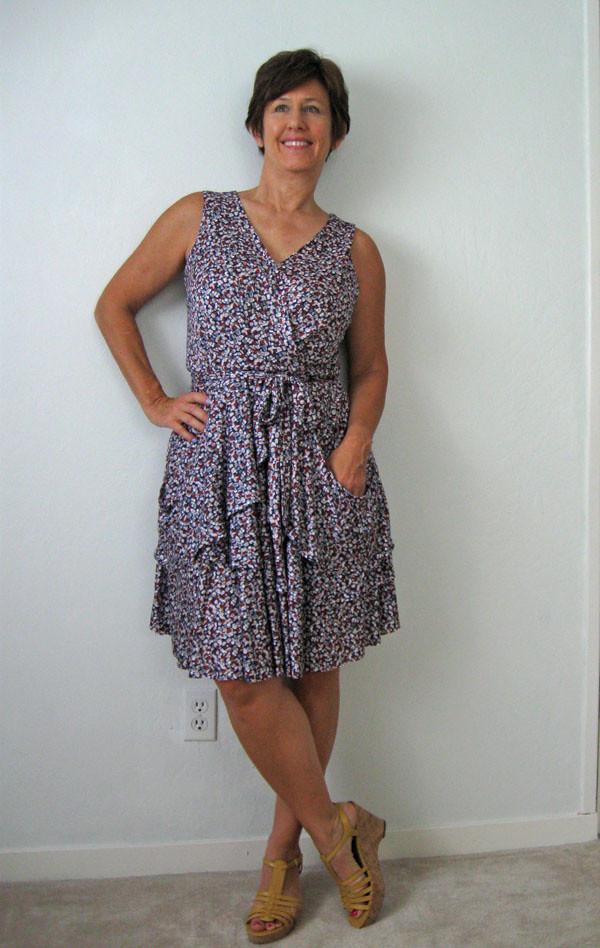 V1448 dress on me3