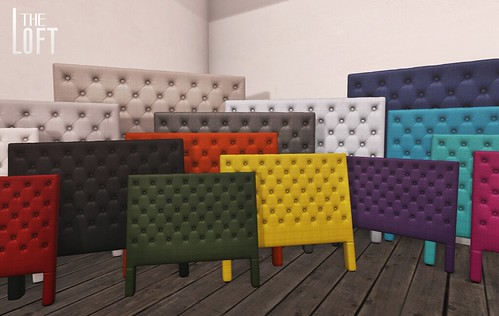 Tufted Headboards @ FaMeshed